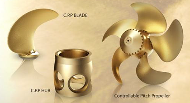Controllable Pitch Propeller : Controllable pitch systems from kruger sons propeller